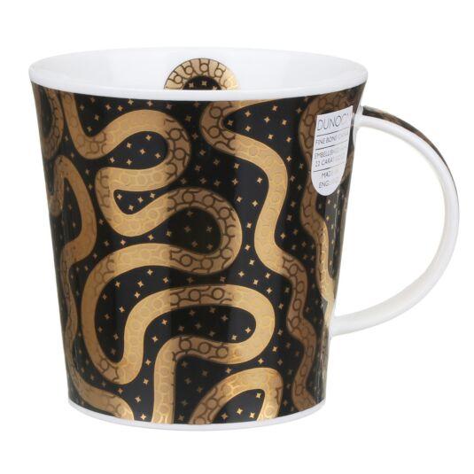 Yasir Black Cairngorm Shape Mug
