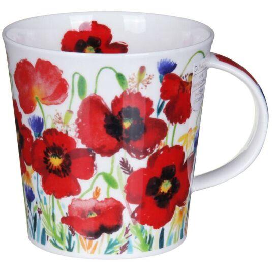 Campagne Poppy Cairngorm Shape Mug