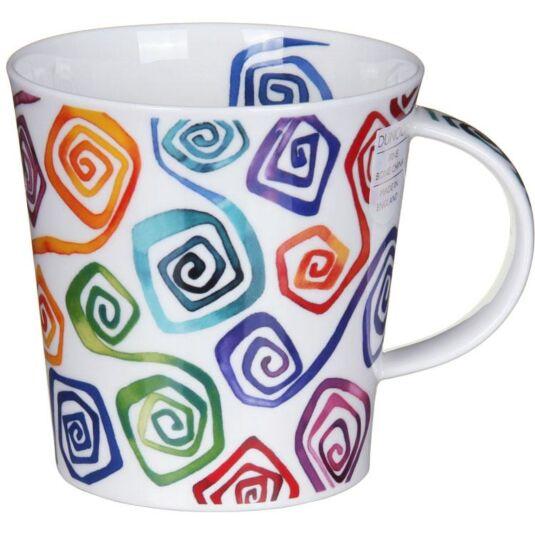 Squirl Square Cairngorm Shape Mug