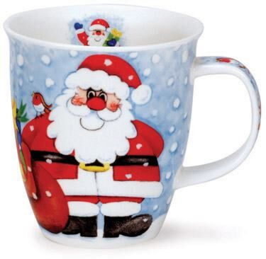 Christmas Fun Santa Nevis shape Mug