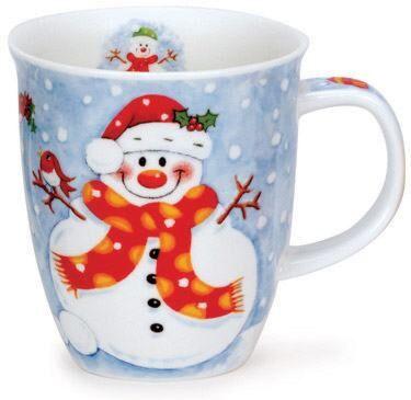 Christmas Fun Snowman Nevis shape Mug