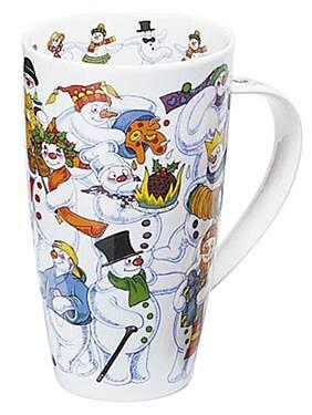 Christmas Galore Snowman Henley shape Mug