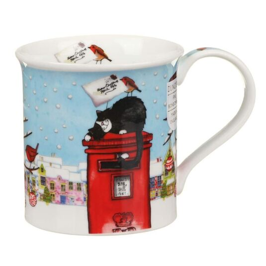 Christmas Post Box Cat Bute Shape