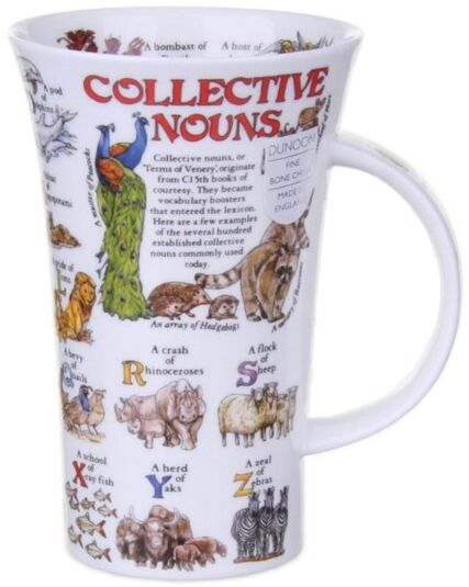 Collective Nouns Glencoe Shape Mug