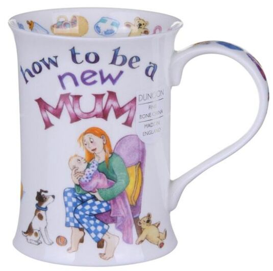 How To - New Mum Cotswold shape Mug
