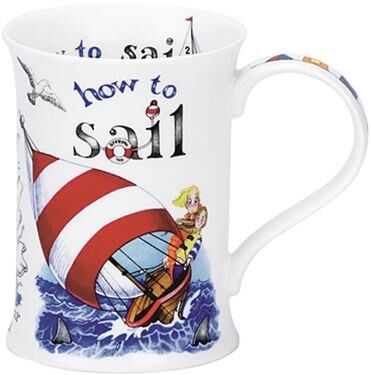How to Sail Cotswold shape Mug