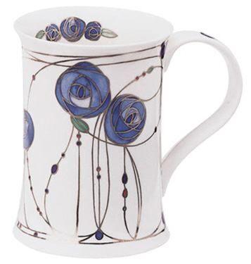 Rothsay Blue Cotswold shape Mug