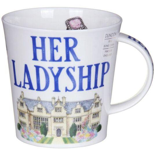 Her Ladyship Cairngorm shape Mug