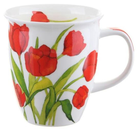 Flora Tulip Nevis shape Mug