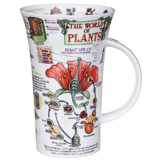 The World Of Plants Glencoe Shape Mug