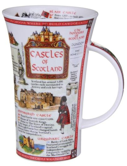 Castles of Scotland Glencoe shape Mug