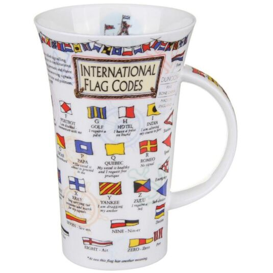 Flag Codes Glencoe shape Mug