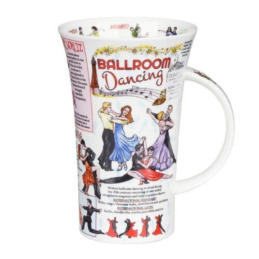 Ballroom Dancing Glencoe Shape Mug