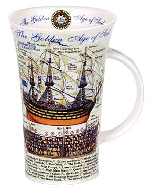 Golden Age of Sail Glencoe shape Mug