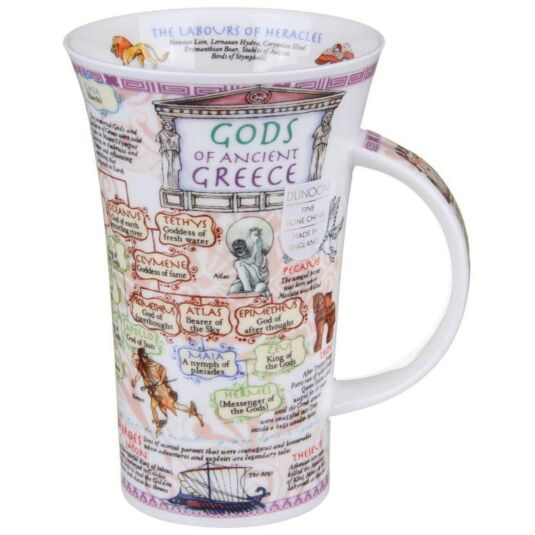 Greek Gods Glencoe shape Mug