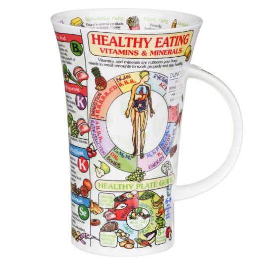 Healthy Eating Glencoe Shape Mug