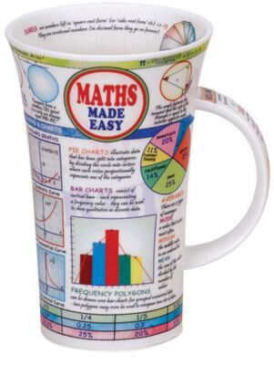 Maths Made Easy Glencoe shape Mug