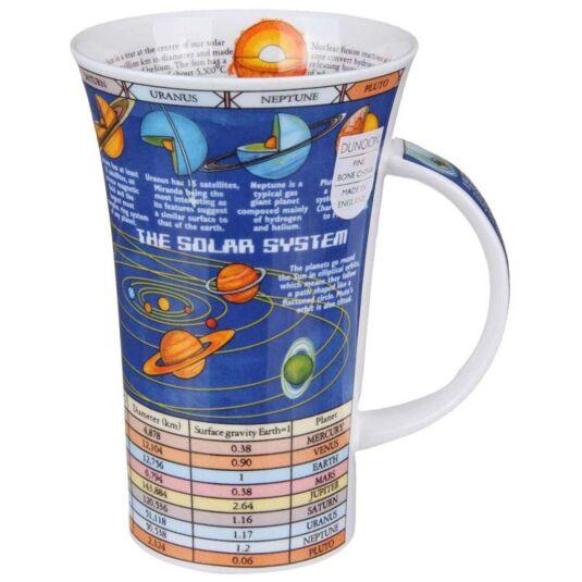 Solar System Glencoe shape Mug