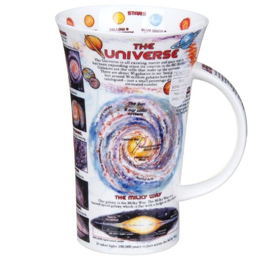 The Universe Glencoe Shape Mug
