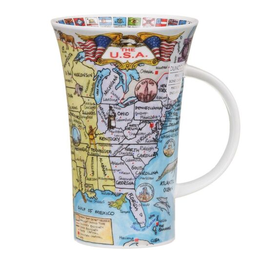 The U.S.A Glencoe Shape Mug