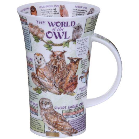 The World of the Owl Glencoe Shape Mug