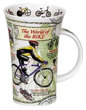 World Of The Bike Glencoe shape Mug