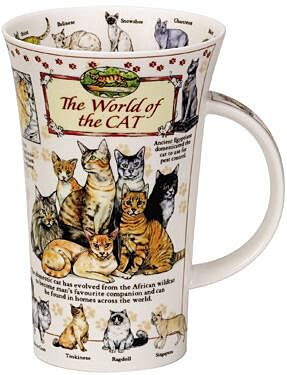 World Of the Cat Glencoe shape Mug