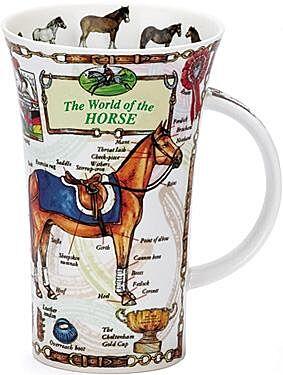 World Of The Horse Glencoe shape Mug