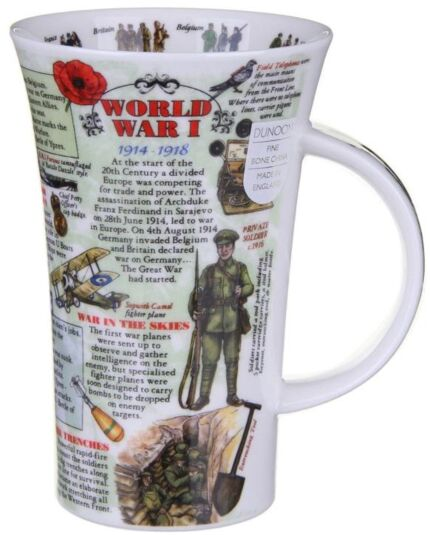 World War 1 Glencoe shape Mug