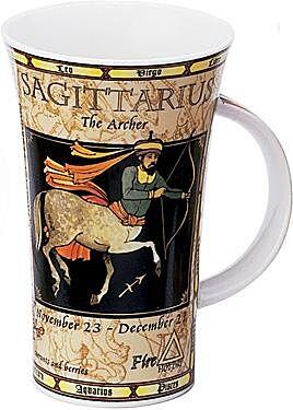 Zodiac Sagittarius Glencoe shape Mug