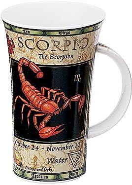 Zodiac Scorpio Glencoe shape Mug