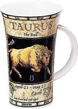 Zodiac Taurus Glencoe shape Mug