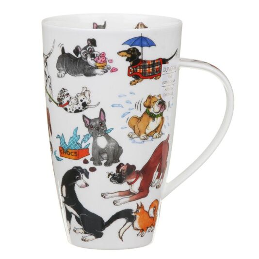 Barking Mad Henley Shape Mug