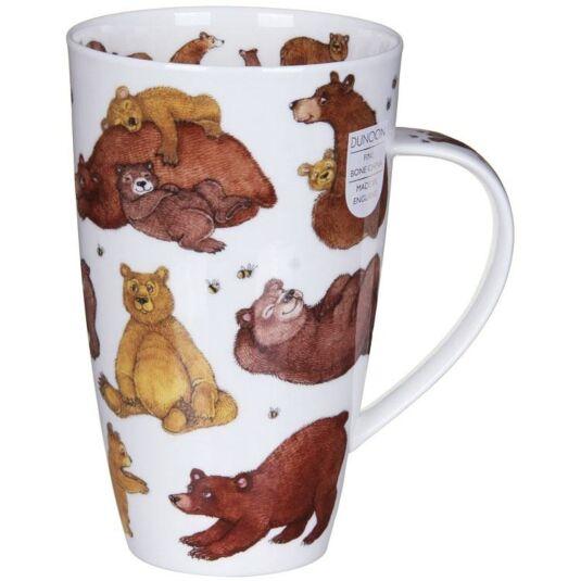 Grizzlies Henley Shape Mug