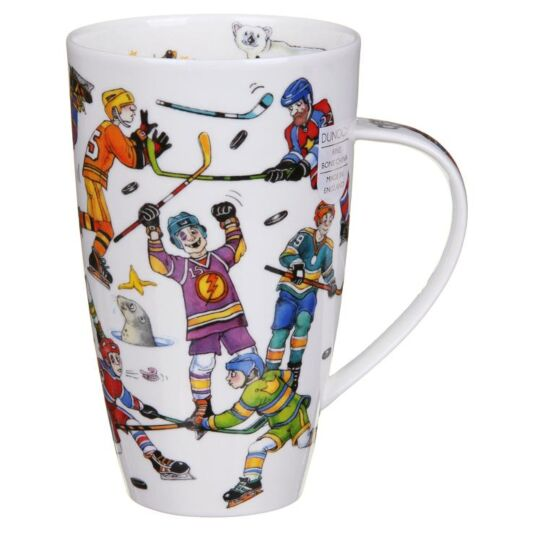 Ice Hockey Henley Shape Mug