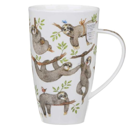 It's a Sloths Life Henley Shape Mug