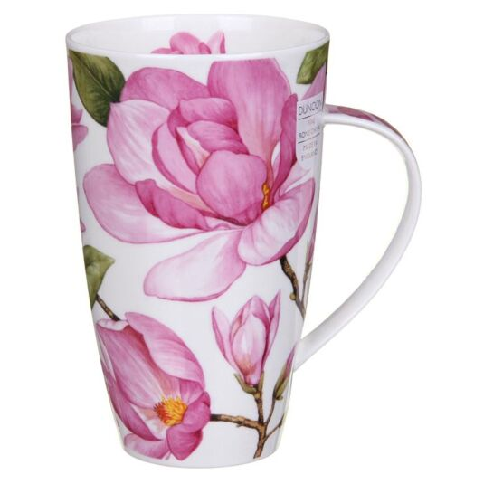 Magnolias Light Pink Henley Shape Mug