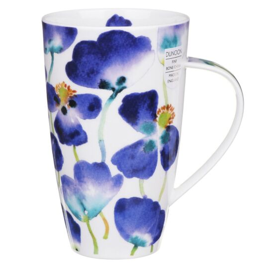 Poppyfield Blue Henley Shape Mug