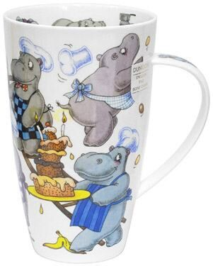 Troublemakers Hippo Henley shape Mug