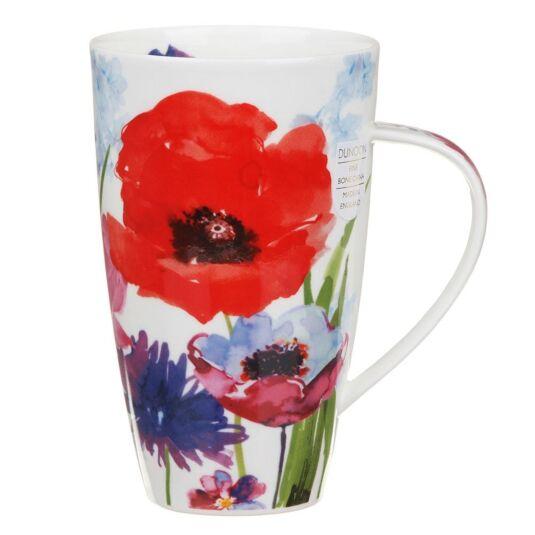 Wild Garden Red Henley Shape Mug