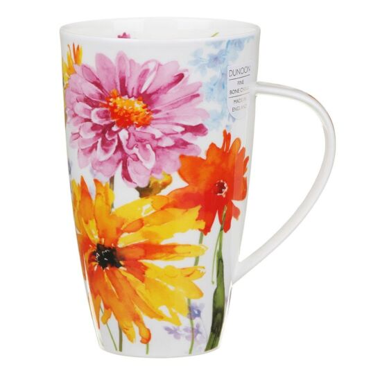 Wild Garden Yellow Henley Shape Mug