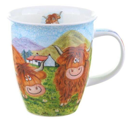 Highland Animals Cow Nevis shape Mug