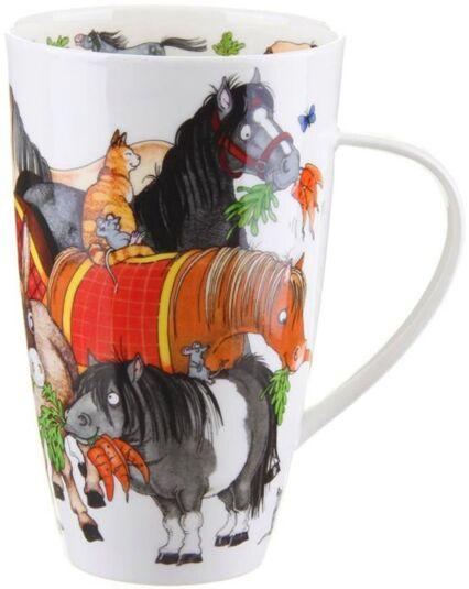 Hoofers Horse Henley shape Mug