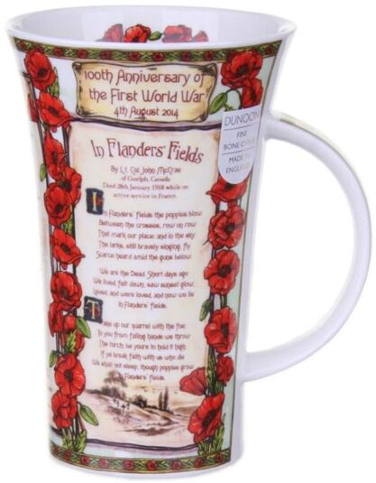 In Flanders Fields Glencoe Shape Mug