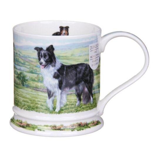 Country Dogs Collie Iona Shape Mug