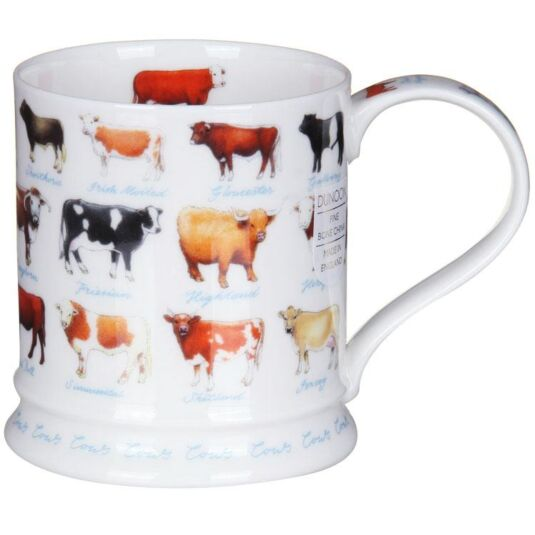 Farm Life Cows Iona Shape Mug