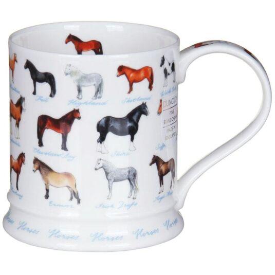 Farm Life Horses Iona Shape Mug