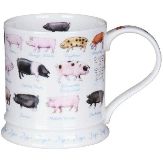 Farm Life Pigs Iona Shape Mug