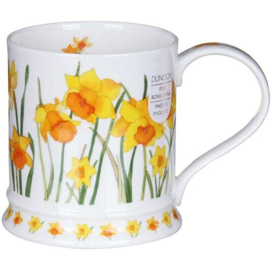 Garden Flowers Daffodils Iona Shape Mug