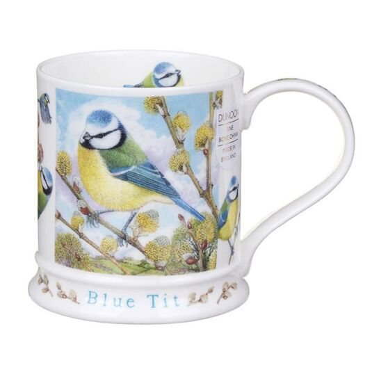 Wildlife Blue Tit Iona Shape Mug